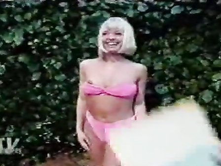 Bikini nipple slip on live television