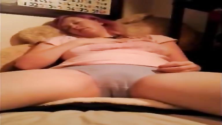 Wetting her panties makes my girlfriend horny