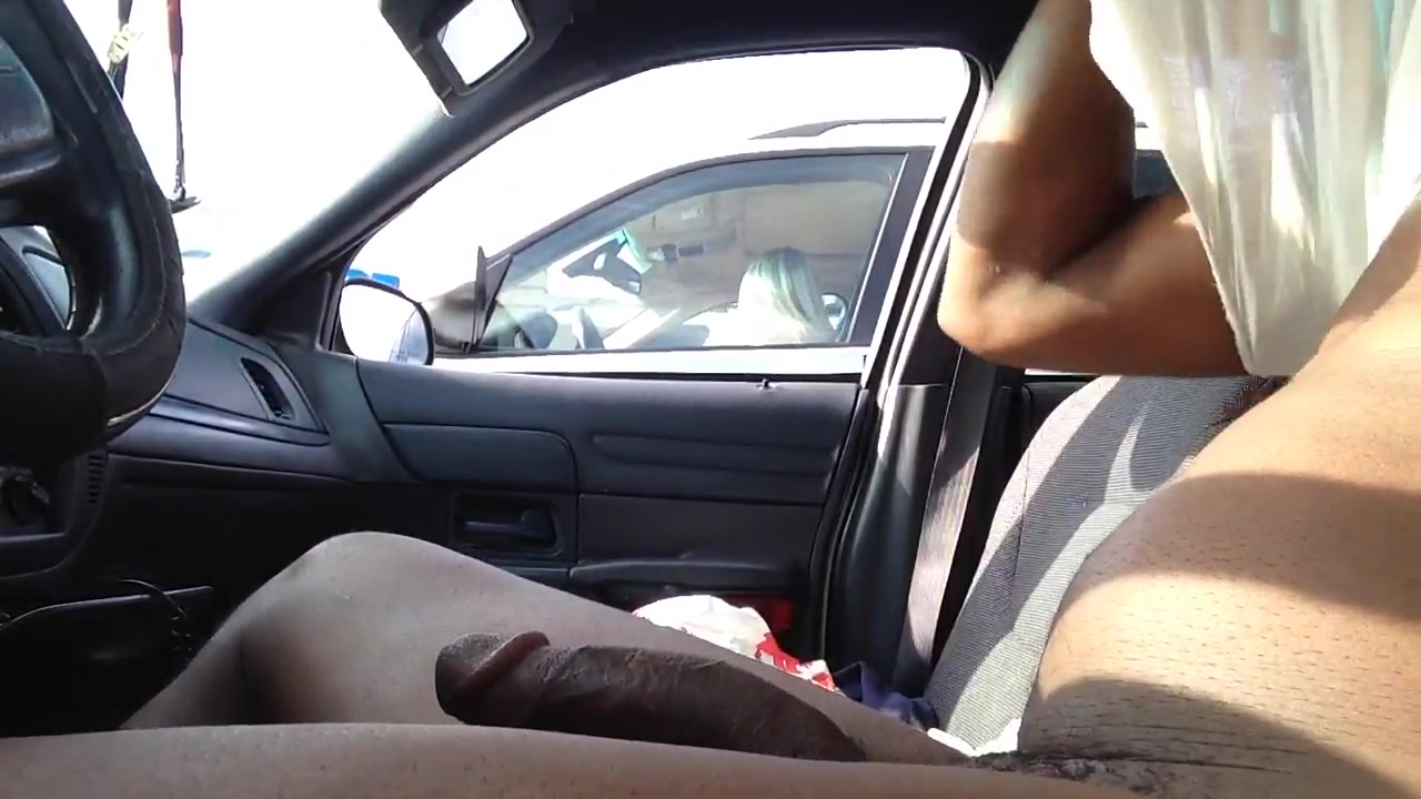 Black Dude In Cap Cock Jerking
