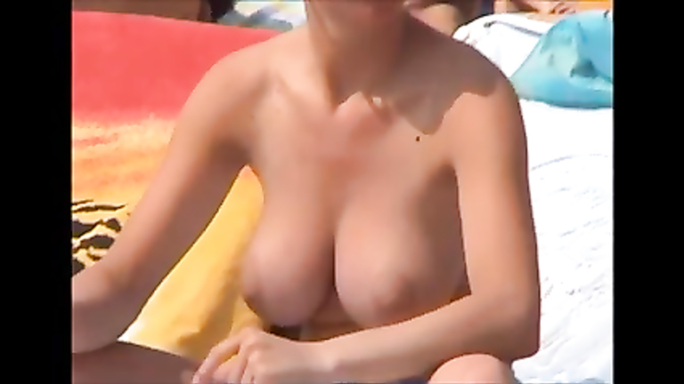 boob couple in sexy beach Good