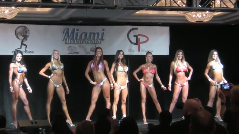Fit babes put their bodies on display in bikinis