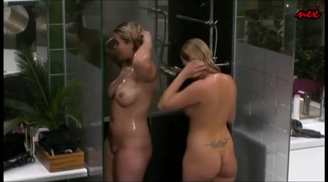 Girl watching tv nude nice message