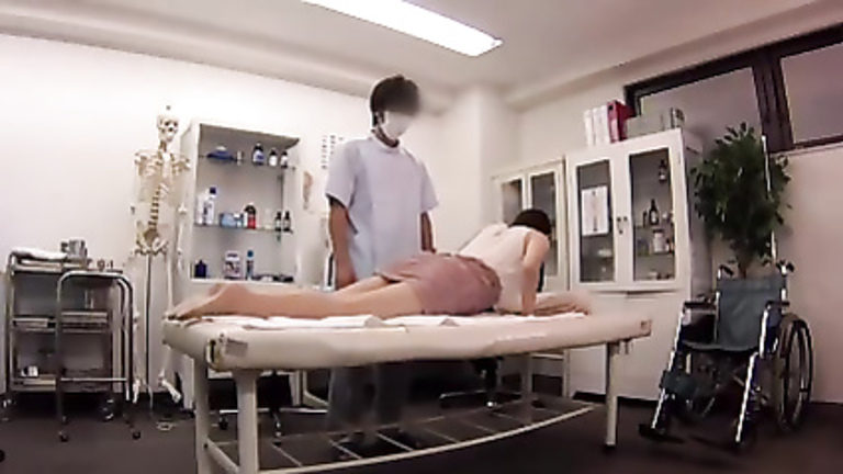 Asian doctor gives his patients great orgasms