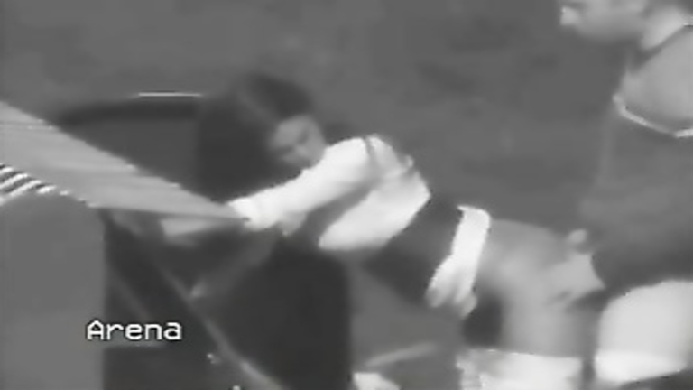 Parking lot shagging caught by a security camera